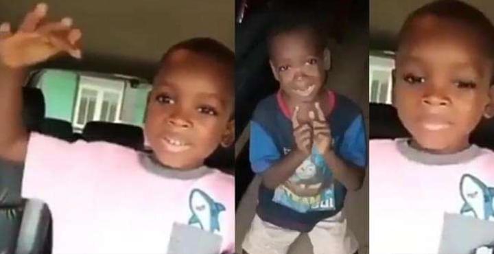 My mom did not beat me, she calmed down – Little boy speaks again in new video